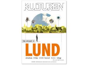 Affisch till Kulturen, Lund | Collage | Photoshop, InDesign